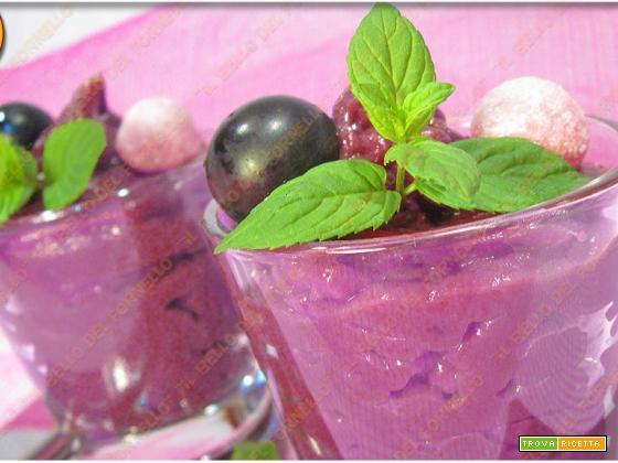 Crema dolce all'uva fragola | peccato di gola
