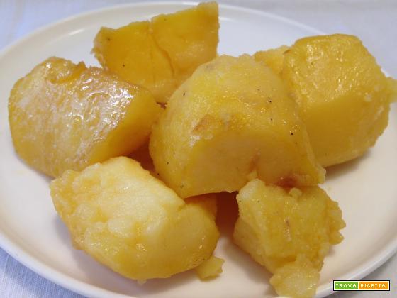 Patate al miele