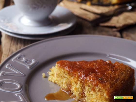 Sweet friday: Torta soffice con farina di arachidi e sciroppo d'acero