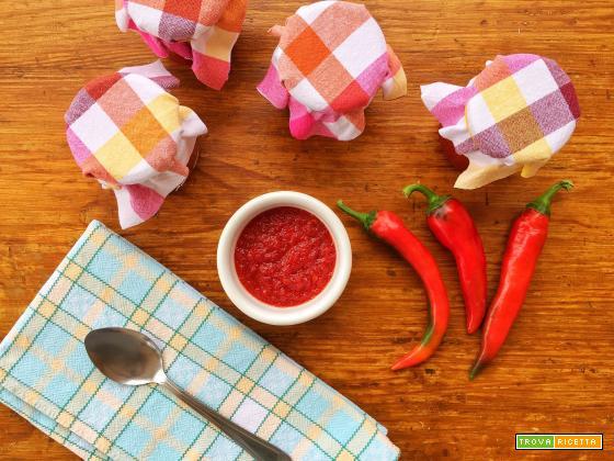Composta di peperoni rossi