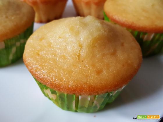 Muffin con yogurt all'albicocca