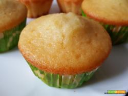 Muffin con yogurt all'albicocca
