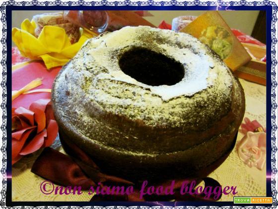 Ciambellone al cioccolato senza burro, ricetta facile e veloce