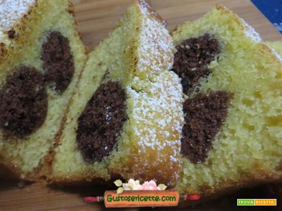 Ricetta plumcake a pois