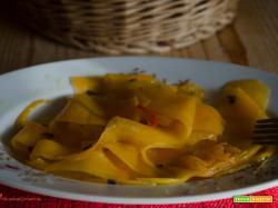Zucca marinata cruda ricetta vegana