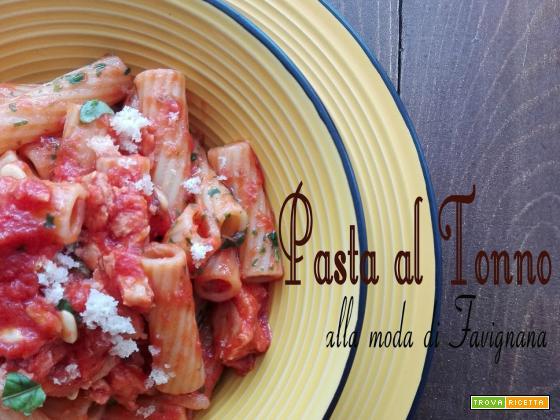 Pasta al tonno alla moda di Favignana e il senso che non c'è