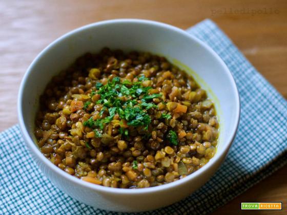 Zuppa di lenticchie alle spezie
