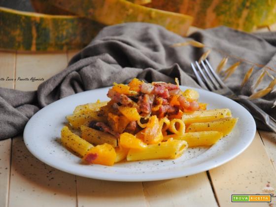 Pennette Zucca e Pancetta Affumicata
