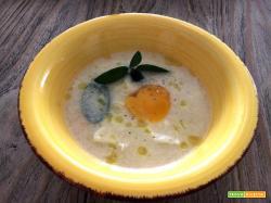 Vellutata di formaggi e uovo …energia!!!!!