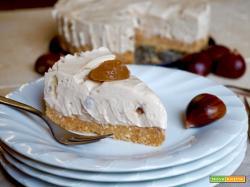 Cheesecake alle Castagne, Senza Cottura