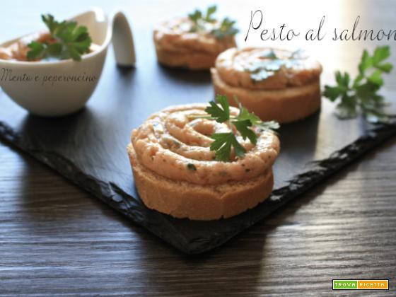 Pesto al salmone