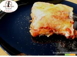 Lasagne di pane integrale al pomodoro