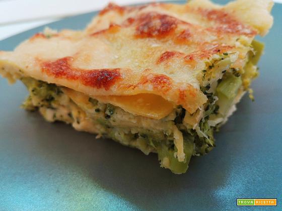 Lasagne di broccoletti