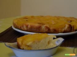 Torta rovesciata all'ananas senza burro