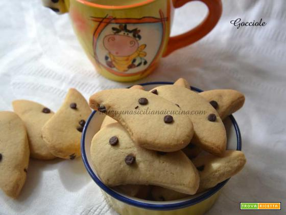 Gocciole biscotti home made