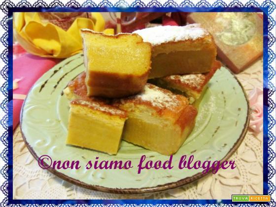 Torta Magica alla Zucca con Spezie d'Autunno