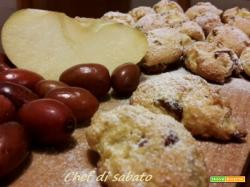 Biscotti morbidi con giuggiole e mele
