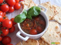 Stuzzica l'appetito: lenticchie e pomodorini per iniziare