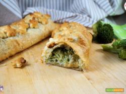 Strudel con broccoli e zucchine