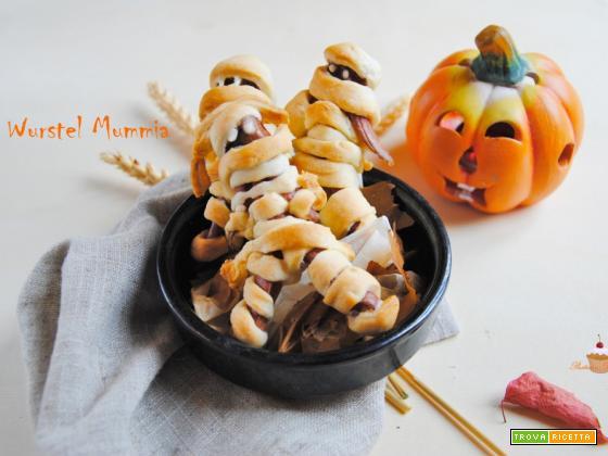 Wurstel Mummia di Halloween