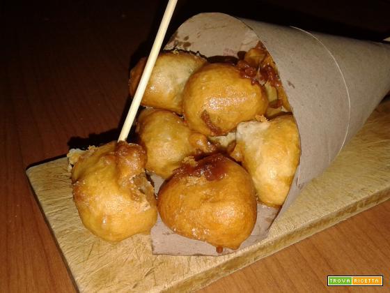 Mozzarelline in pastella fritte