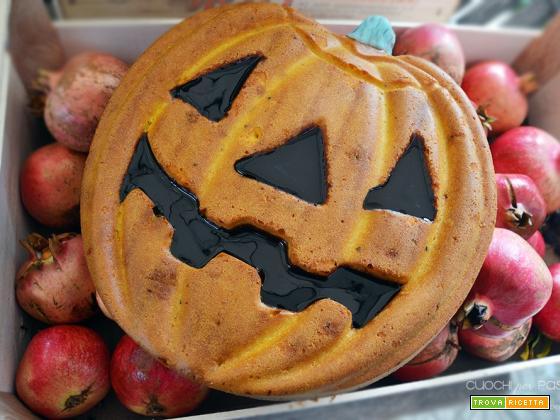 Halloween Cake – la zucca sceglie carote e zenzero!
