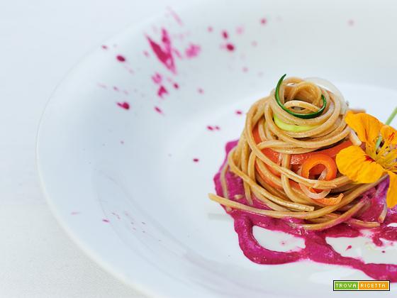 spaghettata in rosa e il nuovo libro dello Chef Leemann