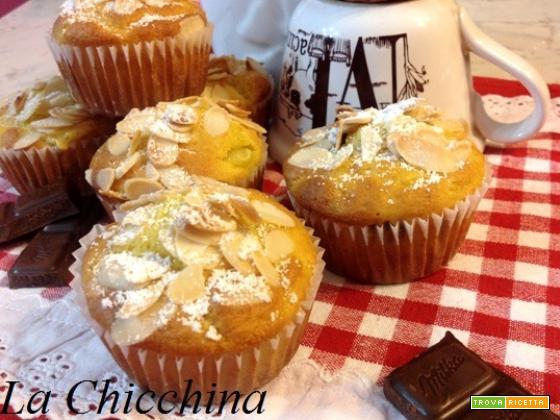 Muffin pera e cioccolato senza burro