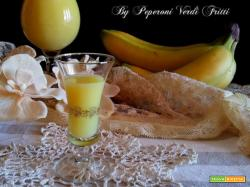 Crema bananosa spiritosa