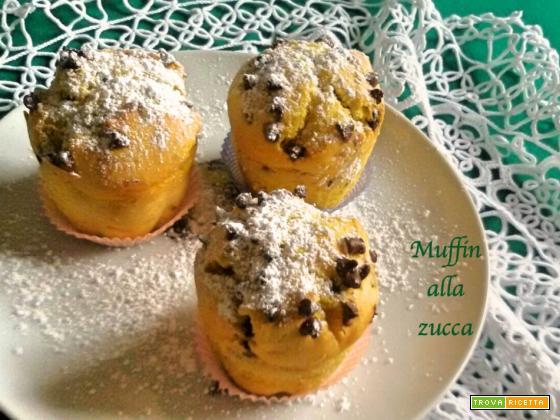 Muffin con la zucca  Un dolcetto di stagione!