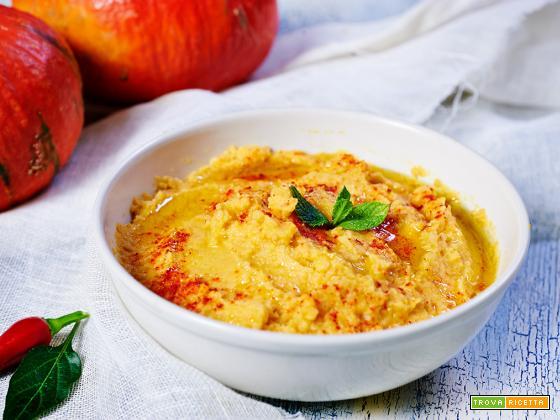 Hummus piccante di zucca