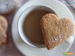 Biscotti cuore integrali