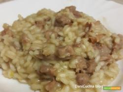 Risotto con castagne e salsiccia – piatto cremoso e autunnale
