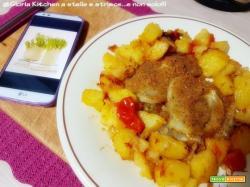 Finocchi Gratinati con Patate al Pomodoro Saporito di Gloria KitchenUSA