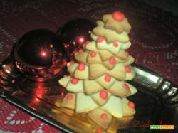 Alberello natalizio come centrotavola