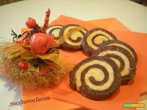 biscotti girella bicolore