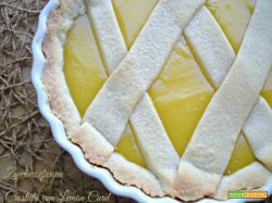 Crostata con lemon curd
