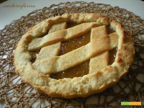 Crostata marmellata di fichi - Ricetta frolla