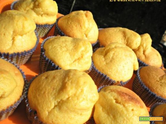 Muffin alla zucca - ricetta per Halloween