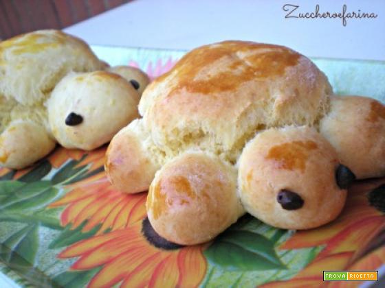 Tartarughe di pane da farcire