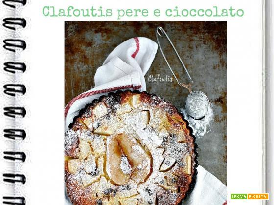 Clafoutis di Kamut Pere e Cioccolato