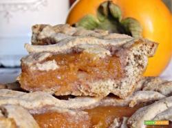 Crostatine Vegan con Marmellata di Cachi e Noci