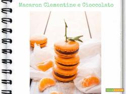 Macarons Clementine e Cioccolato Extra Fondente