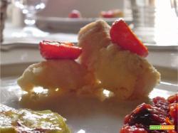 Baccala' in Crosta di Pinoli #menù