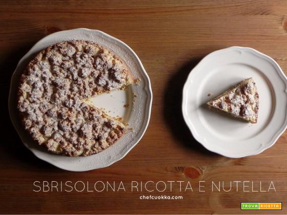 Sbrisolona Ricotta e Nutella
