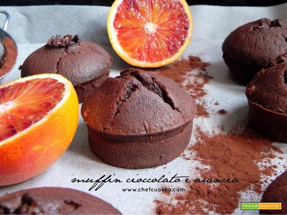 Muffin Cioccolato e Arancia