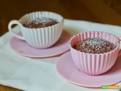 Cupcake al cioccolato soffici e semplicissimi