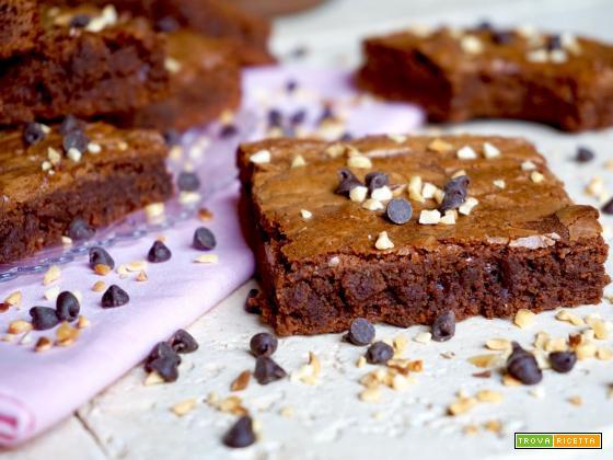 Brownies alla Nutella 3 Ingredienti