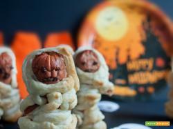 The walking hot dog | Würstel mummia di sfoglia