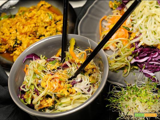 Vietnamese noodles bowl